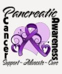 Cinta del corazón - conciencia del cáncer camiseta