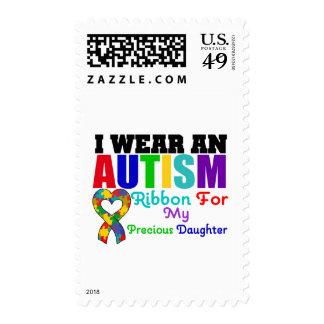 Cinta del desgaste del autismo I para mi hija Franqueo