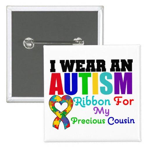 Cinta del desgaste del autismo I para mi primo pre Pins