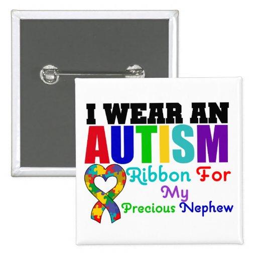 Cinta del desgaste del autismo I para mi sobrino p Pin