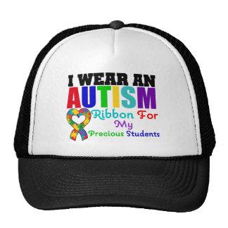Cinta del desgaste del autismo I para mis estudian Gorros Bordados