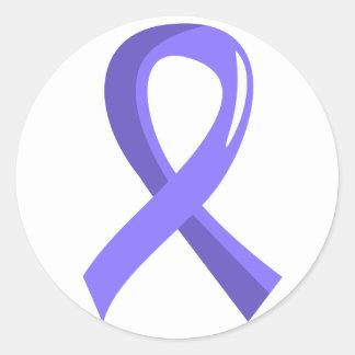 Cinta del esófago 3 del bígaro del cáncer etiqueta redonda