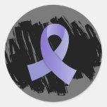 Cinta del esófago del bígaro del cáncer con pegatinas redondas
