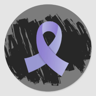 Cinta del esófago del bígaro del cáncer con pegatina redonda