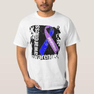 Cinta del Grunge de la conciencia de la artritis Camisas
