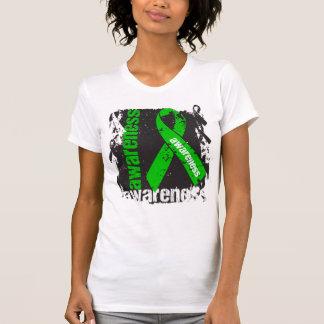 Cinta del Grunge de la conciencia de la neurofibro Camisetas
