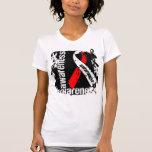Cinta del Grunge de la conciencia de los MDS Camiseta