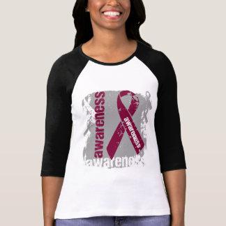 Cinta del Grunge de la conciencia del Amyloidosis Camisetas