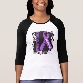 Cinta del Grunge de la conciencia del lupus Playera