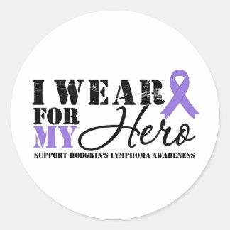 Cinta del héroe de la linfoma de Hodgkin Etiquetas