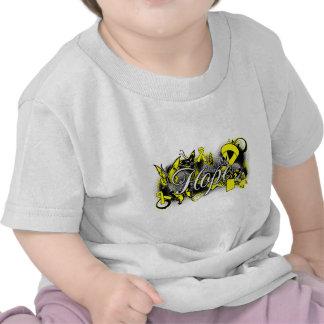 Cinta del jardín de la esperanza de la prevención camisetas