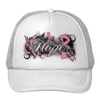 Cinta del jardín de la esperanza del cáncer de pec gorra