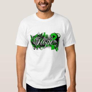Cinta del jardín de la esperanza del desorden camisas