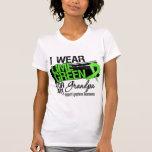 Cinta del linfoma para mi abuelo camisetas