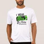 Cinta del linfoma para mi héroe camisetas