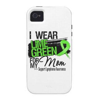 Cinta del linfoma para mi mamá iPhone 4/4S carcasas