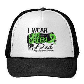 Cinta del linfoma para mi papá gorras
