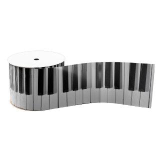 Cinta del personalizado del teclado de piano lazo de tela gruesa