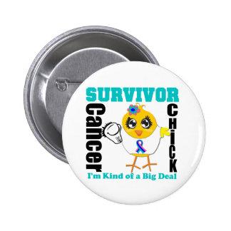 Cinta del polluelo del superviviente del cáncer de pin