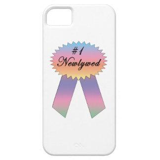 Cinta del premio del recién casado #1 funda para iPhone 5 barely there