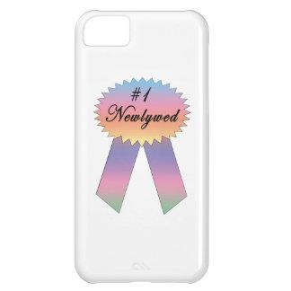 Cinta del premio del recién casado #1 funda para iPhone 5C