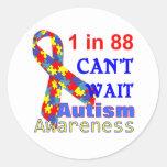 Cinta del rompecabezas de la conciencia del autism pegatinas
