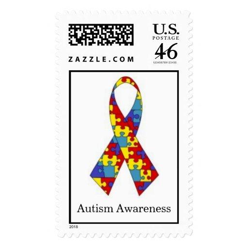 Cinta del rompecabezas de la conciencia del autism envio