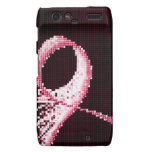cinta del rosa de la conciencia del cáncer de pech droid RAZR funda