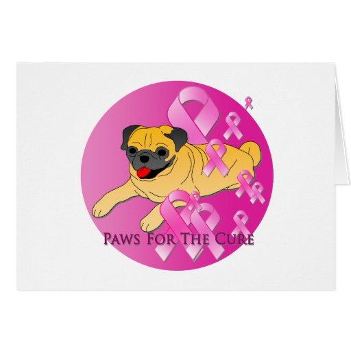 Cinta del rosa del perro del barro amasado felicitacion