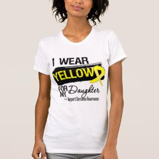 Cinta del sarcoma para mi hija camisetas