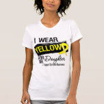 Cinta del sarcoma para mi hija tee shirts