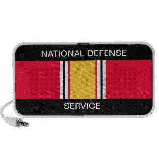 Cinta del servicio de la defensa nacional iPod altavoces
