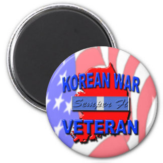 Cinta del servicio del veterano de Guerra de Corea Imán Para Frigorifico