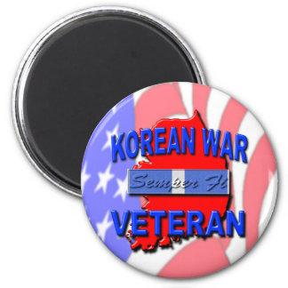 Cinta del servicio del veterano de Guerra de Corea Iman