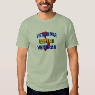 Cinta del servicio del veterano de guerra de remera