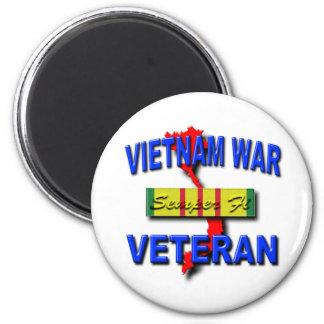 Cinta del servicio del veterano de guerra de Vietn Imán De Frigorífico