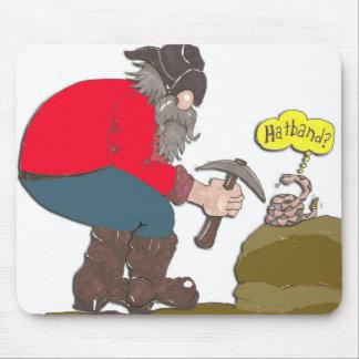 cinta del sombrero alfombrillas de ratones