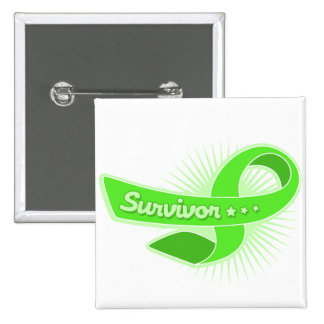 Cinta del superviviente de la enfermedad de Lyme Pins