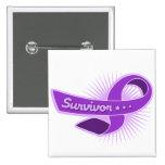 Cinta del superviviente de la epilepsia pins