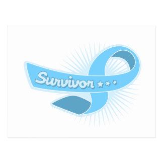 Cinta del superviviente del cáncer de próstata postal