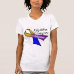 Cinta del superviviente del cáncer de vejiga camiseta