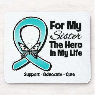 Cinta del trullo para mi héroe mi hermana tapete de ratones