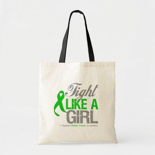 Cinta del verde del cáncer del riñón - lucha como  bolsas