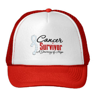 Cinta del viaje de la conciencia del superviviente gorras