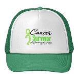 Cinta del viaje de la conciencia del superviviente gorra