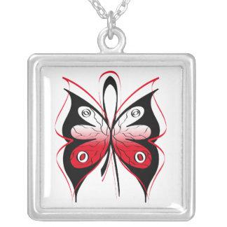 Cinta elegante de la conciencia de la mariposa del collares