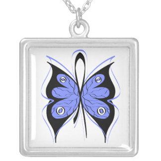 Cinta elegante de la conciencia de la mariposa del pendiente personalizado