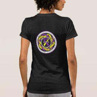 Cinta entrelazada esperanza autoinmune de la camiseta