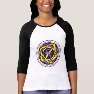 Cinta entrelazada esperanza autoinmune de la camisetas