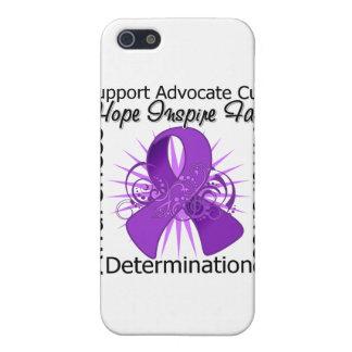 Cinta espiral de las inspiraciones de la epilepsia iPhone 5 cárcasa
